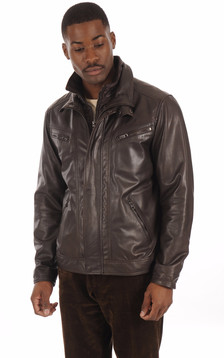 Blouson Confortable Marron