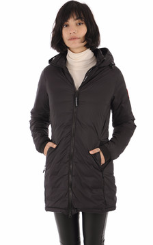 Parka Camp Hooded Jacket Noire