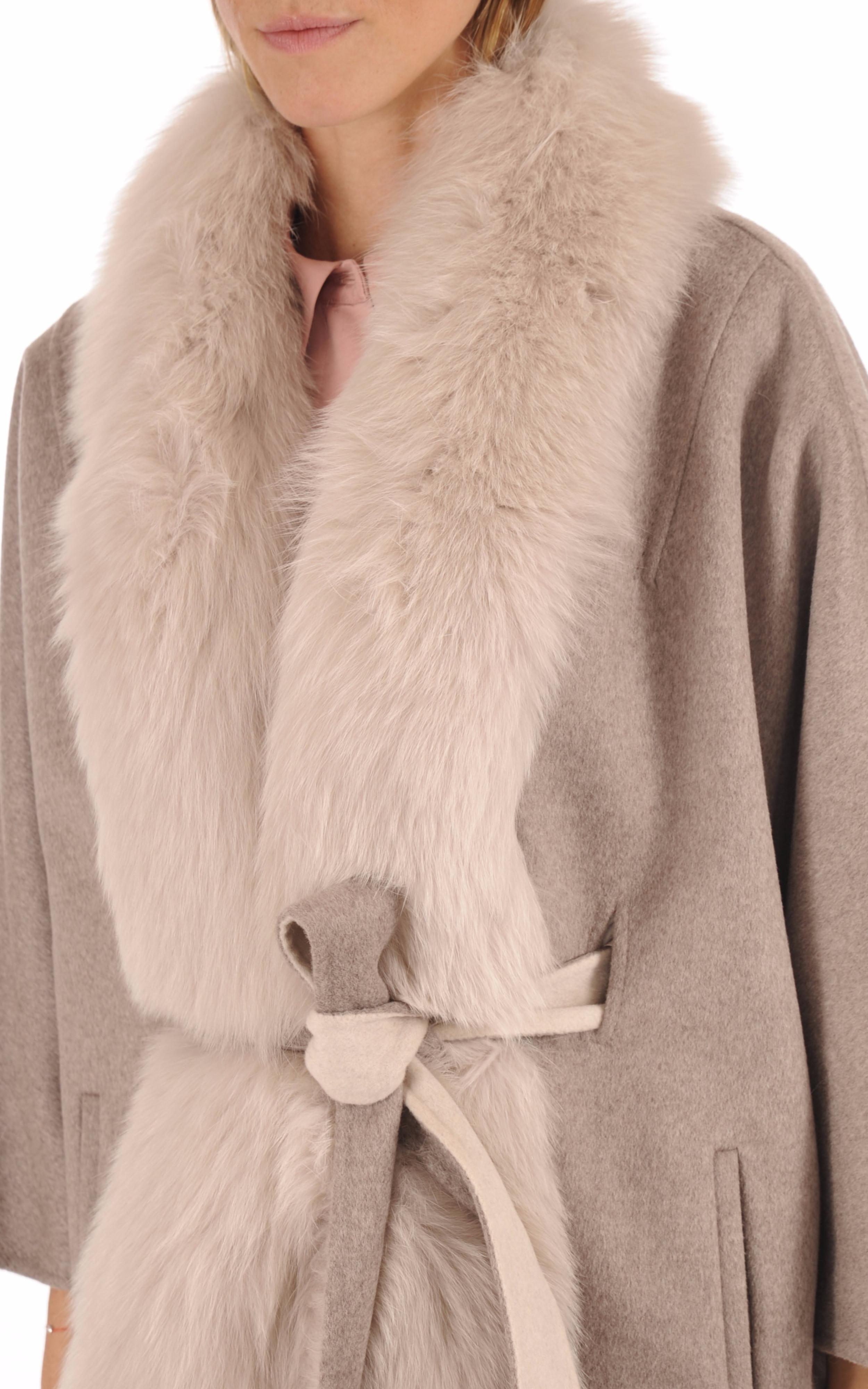 Veste Chic Kimono Renard & Cachemire La Canadienne