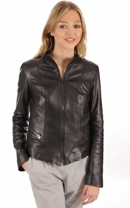 4fea6fab3ea Blouson et veste cuir pour femme La Canadienne