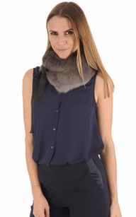 Col Lapin Anthracite Femme1