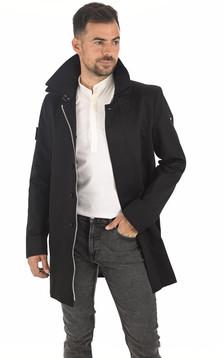 Trench Knight Coat noir
