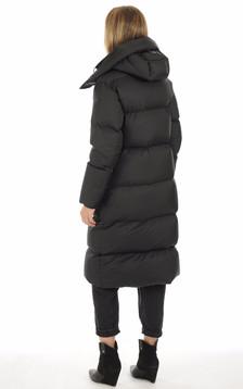 Doudoune longue Eliane noire