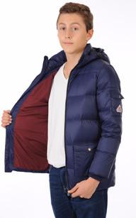 Doudoune Authentic Jacket  Marine Garçon