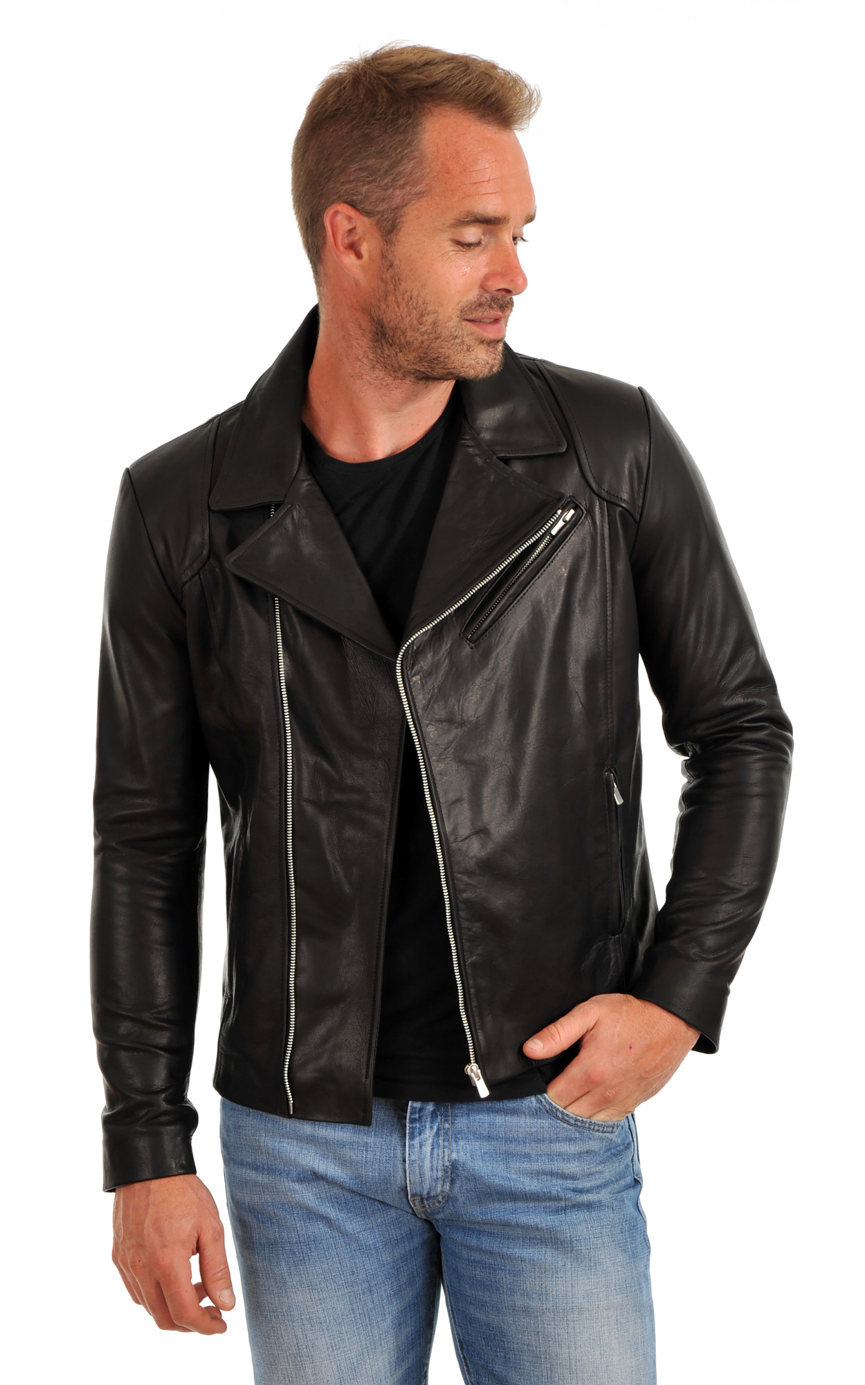 Perf' Cuir Vachette Homme1